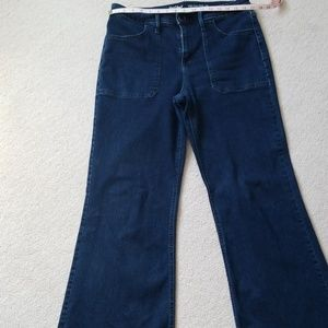 Mossimo flared jeans